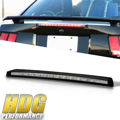 $29.50 • Buy Euro Style Clear Lens Rear Trunk 3RD Third Brake Light For 99-04 Ford Mustang