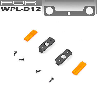 $12.43 • Buy RC Car LED Side Light Lamp Kit For WPL D12 Pick-up Military Truck Upgrade Parts