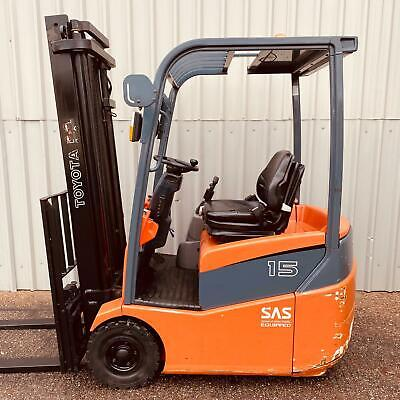 Toyota 7fbest15 Used 3 Wheel Electric Forklift (#3094) • 9,300£