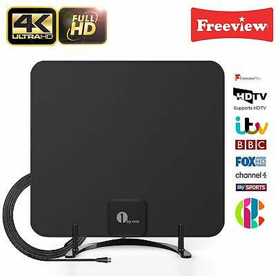 1byone Freeview TV Aerial With Stand-HDTV Antenna For Digital Freeview Analog TV • 11.89£