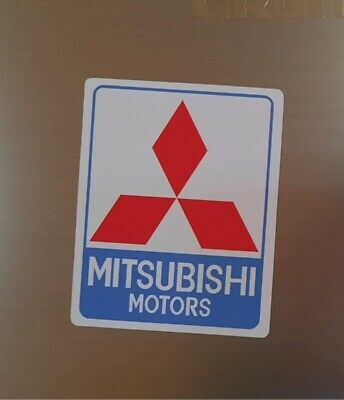 AU13.37 • Buy Fridge Magnet Retro Mitsubishi Motors Diamond Star. Classic Mitsubishi Colours.