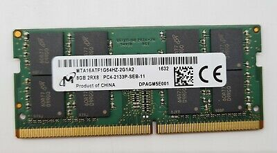 AU49 • Buy Micron 8GB PC4 DDR4 2133p For Laptop