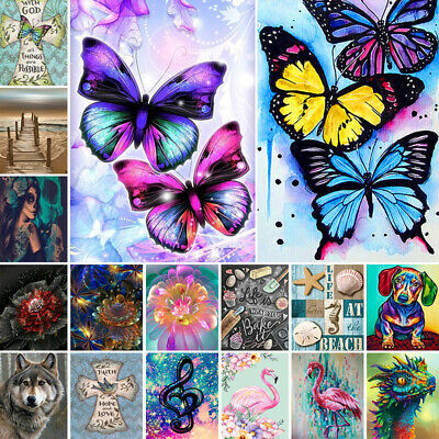 AU13.85 • Buy 5D Diamond Painting Embroidery Cross Craft Stitch Art Kit Mural Pictures DIY AU