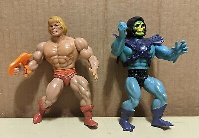 $59.99 • Buy Lot Of 2 Vintage He-Man Skeletor Action Figures Masters Of The Universe