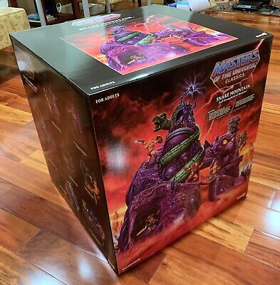 $1750 • Buy Super7 Masters Of The Universe Classics Snake Mountain Playset - In Hand MOTUC