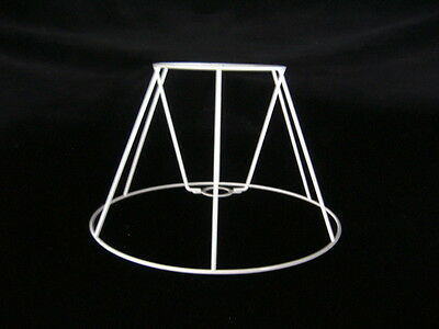 Straight Empire Lampshade Frame  4  X 8  X  5.5  Height • 6.95£