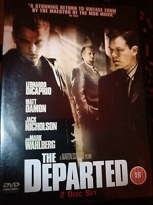 The Departed (DVD, 2007, 2-Disc Set) • 1.25£