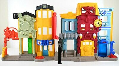 Fisher-Price Imaginext Rescue City Center Police Fire Station Buildings Playset • 21.70£