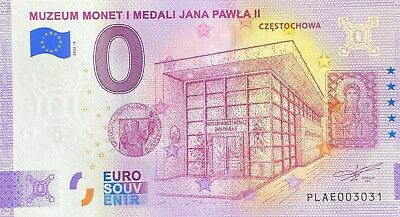 Ticket 0 Euro Muzeum Monet Poland 2020 Number Various • 39.51£