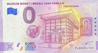 Ticket 0 Euro Muzeum Monet Anniversary Poland 2020 Number Various • 38.52£
