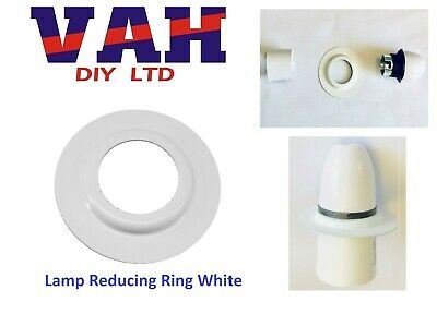 Lamp Shade Reducer Plate / Washer / Ring Made From Metal ES To BC Adaptor 1Pc • 1.28£