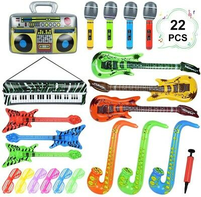 Inflatable Instruments Set 22Pcs - ONLY 15 PIECES • 13.99£