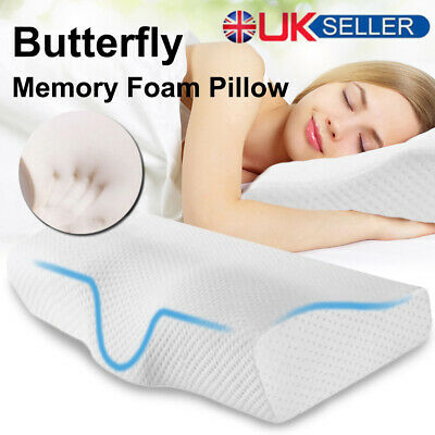 Contour Memory Foam Pillow Sleep Orthopaedic Cervical For Head Neck Back Support • 13.99£