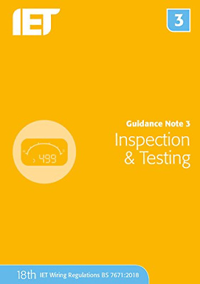 Guidance Note 3: Inspection & Testing Electrical Regulations • 39.14£