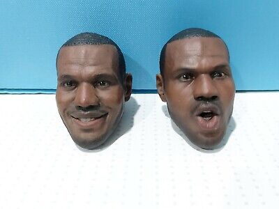 $70 • Buy EMS Set Of Two 1/6 Scale Custom Head Sculpts For Enterbay LeBron James