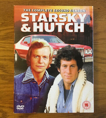 STARSKY AND HUTCH - THE COMPLETE 2nd SEASON DVD BOX SET • 7£