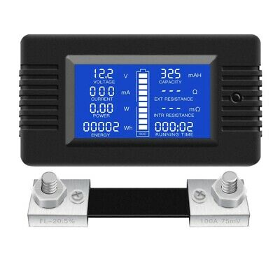 AU23.49 • Buy DC Multifunction Battery Monitor Meter LCD Display Digital Current Voltage  P8K2