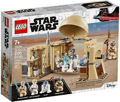 75270 LEGO Star Wars Obi-Wan's Hut 200 Pieces Age 7 Years+FREE & Fast Delivery • 31.99£