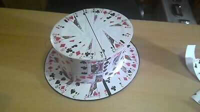 Card Fan To Top Hat -  Used Magic • 40£