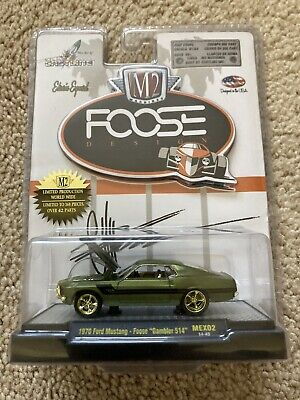 """$109.99 • Buy M2 Machines Mexico Foose 1970 Ford  Mustang Foose """"Gambler 514"""" Raw Chase (READ)"""