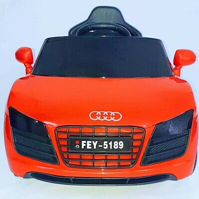 12v Audi R8 Style Kids Electric Battery Ride On Car Parental Remote Control • 82.50£