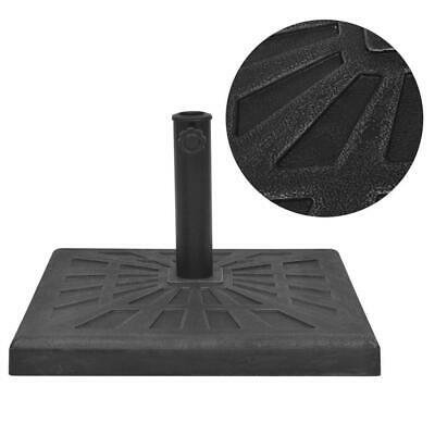 AU54.95 • Buy Outdoor Umbrella Weighted Stand Garden Parasol Holder Square Base Resin 12kg