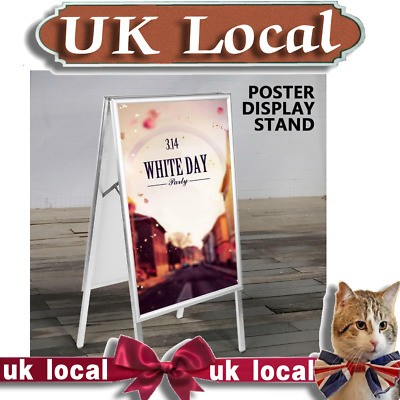 Rustless Metal A1 Aluminum Alloy Snap Frame Board  Display Double Sided Poster • 54.99£