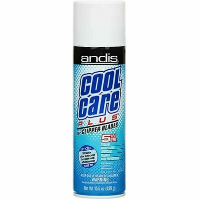 £10.97 • Buy Andis Cool Care Plus Cleaner Spray For Clipper Blades Trimmer 5 In 1 Coolant