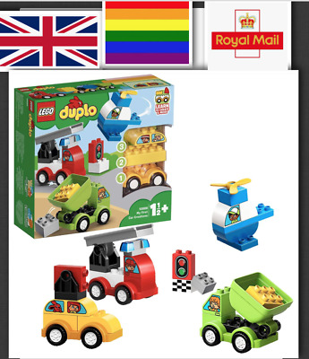 LEGO Creator Car Kids Set With 4 Buildable Vehicles For 1.5 Years Old Fun Play  • 29.99£