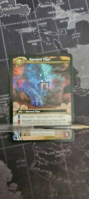 WoW TCG - Loot Card USED - Spektraltiger / Spectral Tiger - USED • 44.92£