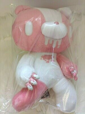 UK SELLER Chax GP Gloomy Bear Plush Monotone Pink White RARE 48cm Toreba Japan • 299£