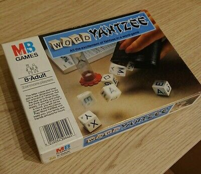 Mb Games Word Yahtzee Family Game • 6.95£