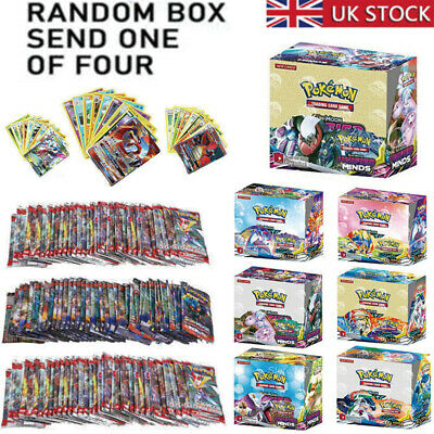 324pcs For Pokemon Cards Bundle Booster Box English Edition 36 Pack Gifts UK • 13.99£