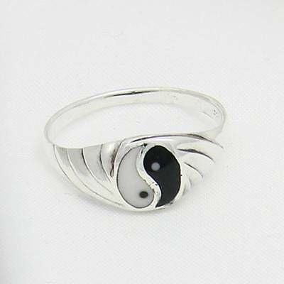 Yin Yang Ring Silver Gothic Jewelry - New • 11.26£