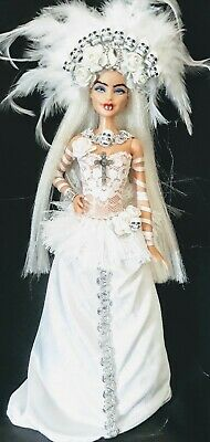 Vampire Bride Frostbite Ooak Barbie Doll • 47.24£