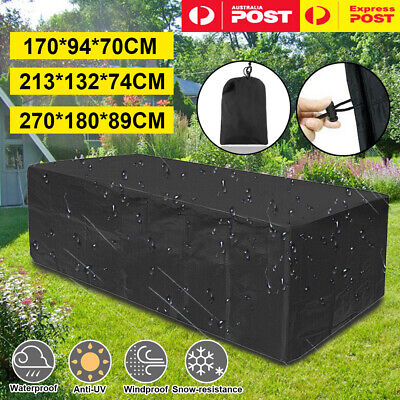 AU32.99 • Buy Waterproof Outdoor Furniture Cover Garden Patio UV Table Chair Shelter Protector
