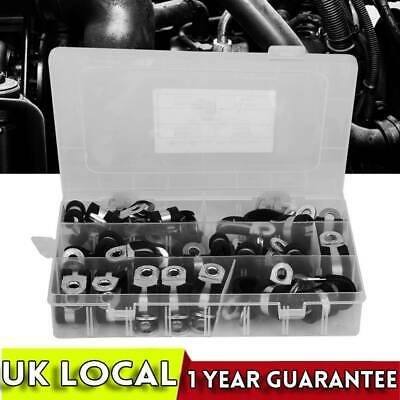 £10.69 • Buy Tidy Box 200Pcs P Clips Clamp Assortment Kit For Wire Cable Pipe Nylon Plastic