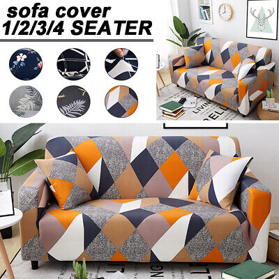 AU18.99 • Buy 1-4Seater Sofa Covers Modern Elastic Couch Cover Easy Sofa Protector Home Decor