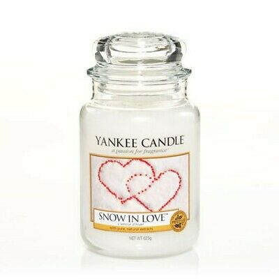 Yankee Candle - Snow In Love Large Jar 623g Christmas  • 21.95£
