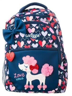 AU62.95 • Buy Smiggle  Fave  Large Backpack School Bag, 🐩💗princess Poodle