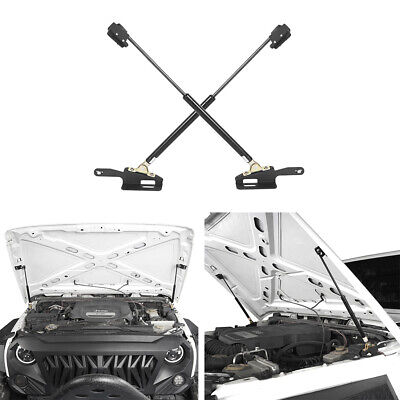 AU48.88 • Buy For 2011-2018 Jeep Wrangler JK 2Pcs Steel Front Hood Lift Support Kit Bracket