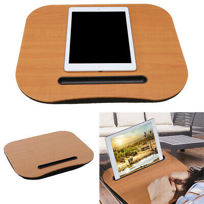 Portable Knee Laptop Cushion Lap Tray Computer Desk Writing Table Tablet Holder • 14.95£