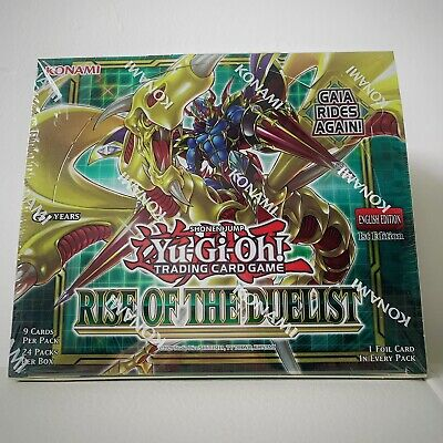 YU-GI-OH! Rise Of The Duelist (ROTD) Booster Box 24 Packs First Edition • 94£