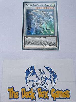 Yugioh: Crystal Wing Synchro Dragon, Op13, Super Rare • 2.40£