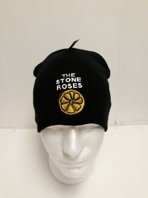 The Stone Roses Beanie Hat Ian Brown Adored Embroidered • 11.99£