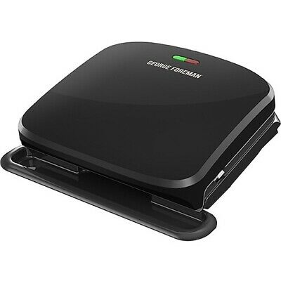 NEW Spectrum GRP3060B 4-Serving Removable Plate Panini Grill Black Electric GF • 33.24£