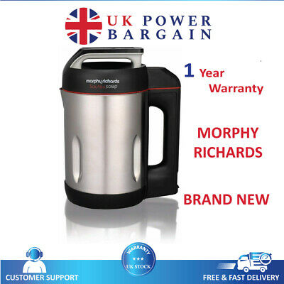 £79.90 • Buy Morphy Richards Fuss Free Saute And Soup Maker 1.6L 1000W - Stainless Steel