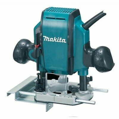 Makita 1/4-inch/ 3/8-inch 240V Plunge Router With Tools And Accessories • 165.78£