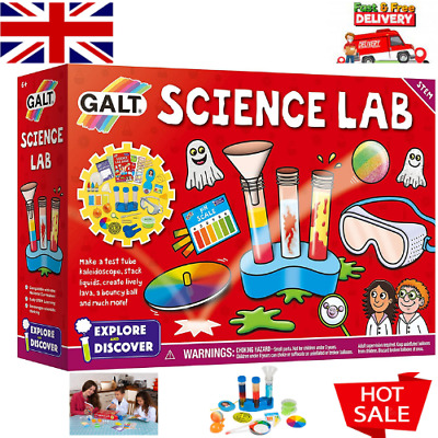 AU31.28 • Buy Science Lab Kit Educational Toys For Kids Fun Experiment Learning Gift Set _UK