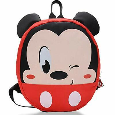 Mickey Mouse Backpack - WENTS Children's Schoolbag For Boy Girl Bag With Ears • 17.99£